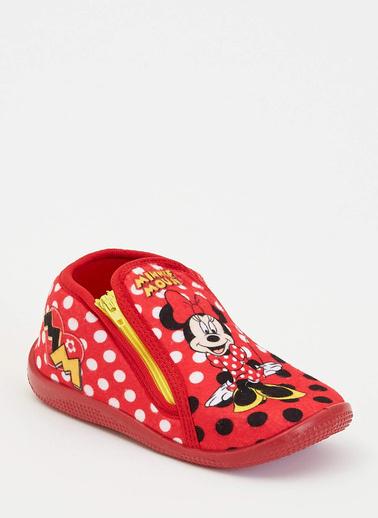 DeFacto Minnie Mouse Lisanslı Panduf Kırmızı